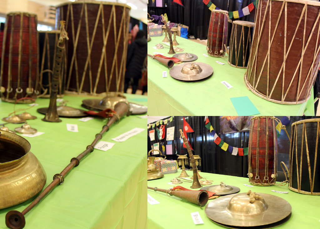 Nepalese Musical Instruments Display in FIUTS International Expo 2015