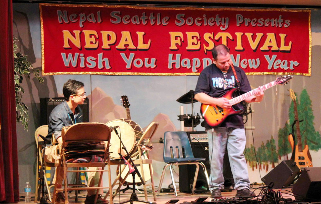 Drums Performance in Nepal Festival 2013